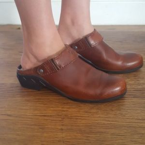 Ariat Shoes - Ariat Leather Slingback Mules Booties 8.5